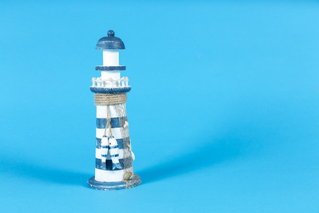 Lighthouse with life buoy