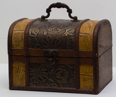 treasure chest: wooden box, wooden chest, treasure chest, treasure chest
