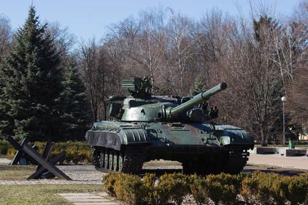 Soviet tank. anti-tank