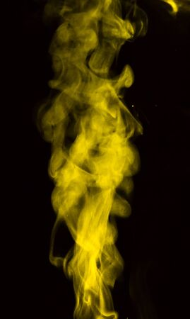swirls: White  cloud Smoke isolated on black background