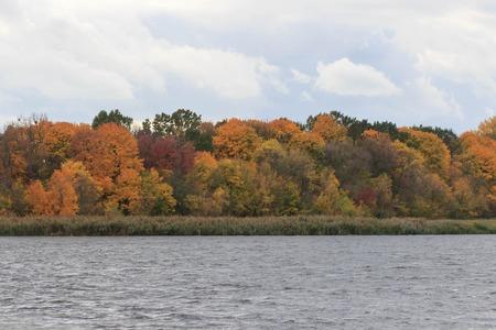 Autumn Landscape. Colorful fall Фото со стока - 90052919