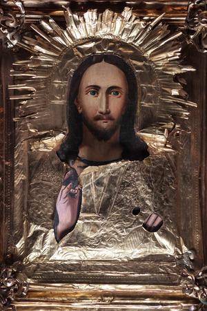 фото православной святой живописи, названной иконой Фото со стока - 90088560