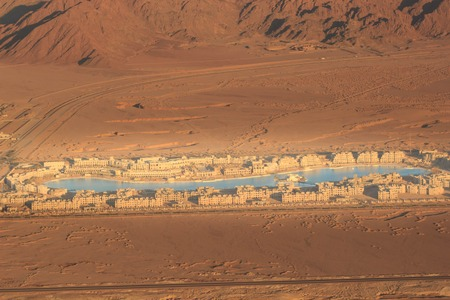 Hucachina oasis and sand dunes