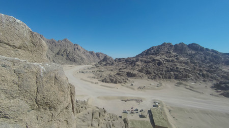 Mount Moses , is a mountain in the Sinai Peninsula, which is most often identified with the biblical Mount Sinai.