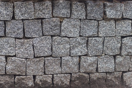 Background - Stacked Stone Wall Фото со стока - 105944074