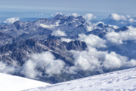 Alps Alpine Landscape of Mountain . 免版税图像 - 107117152