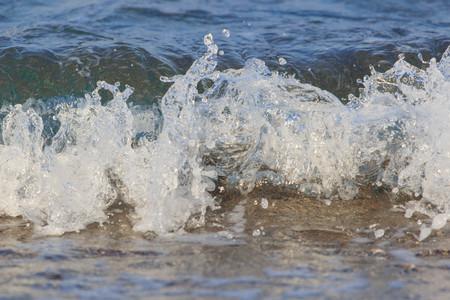 Wave on the beach.