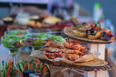 Food catering dish service, party