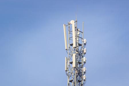 base station network operator. 5G. 4G, 3G mobile technologies. Фото со стока