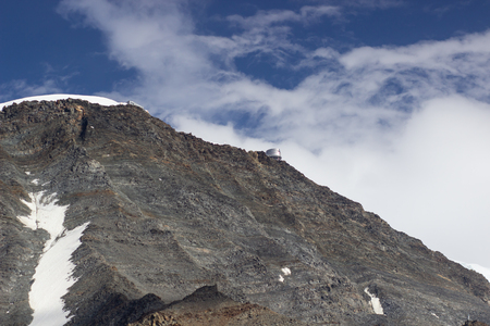 Mont Blanc, Mont Blanc Massif, Chamonix, Alps, France.