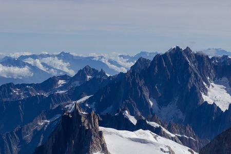 Alps Alpine Landscape of Mountain .