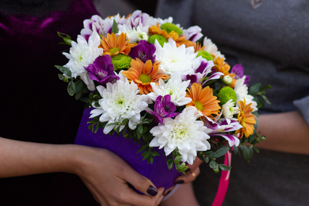 Bouquet of colorful flowers.