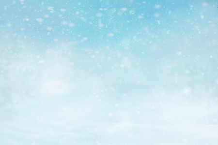 Abstract Christmas winter snowly Background. 版權商用圖片