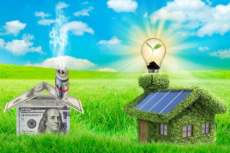 Ahorre dinero con eficiencia energética en casa.