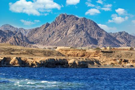 dessert coast of sharm el sheikh, egypt Фото со стока