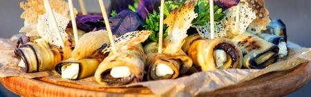 fresh spring or summer rolls. Healthy food. Фото со стока