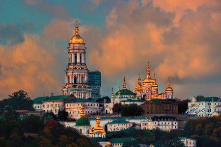 Kiev Pechersk Lavra or the Kiev Monastery of the Caves. Kiev. Ukraine. Stock Photo