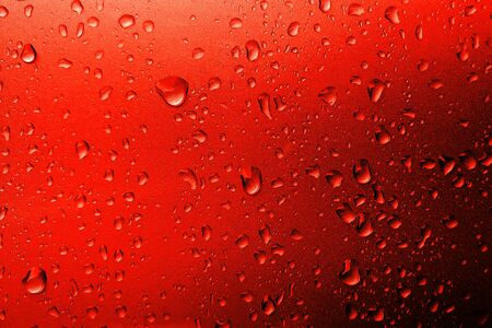 Abstract Lush Lava soft light. Neon orange-red color background. 写真素材
