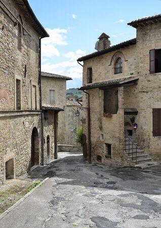 bevagna: medieval village in the city of bevagna