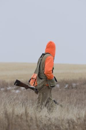 Pheasant Hunter in autumn photo