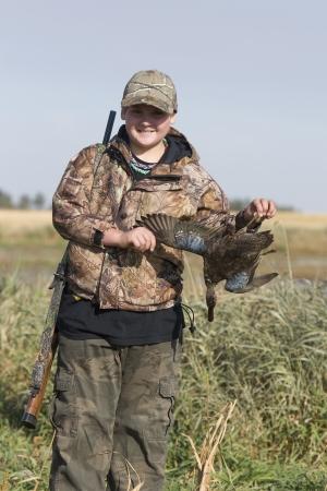 Duck Hunter Stock Photo - 17785278