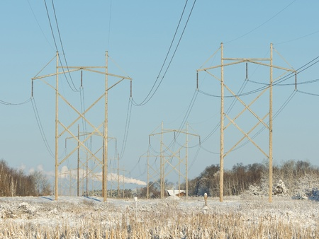 power lines: Power Lines