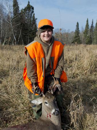 deer hunter: Young Hunter