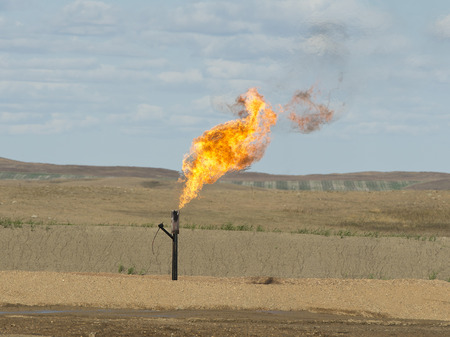 Gas Well Flaring photo