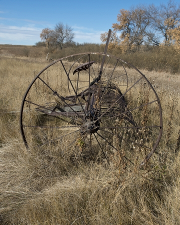 Old Rusty Farm implement