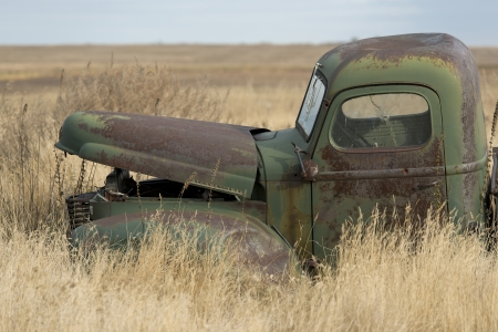 Abandonded Classic American Truck