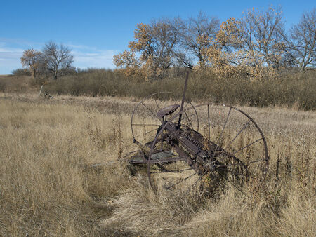 Old Rusted Machinery