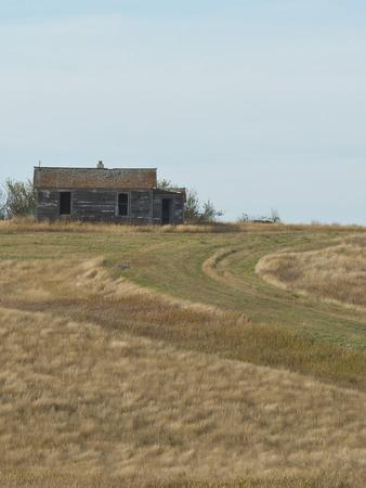 Old Farmhouse in North Dakota photo