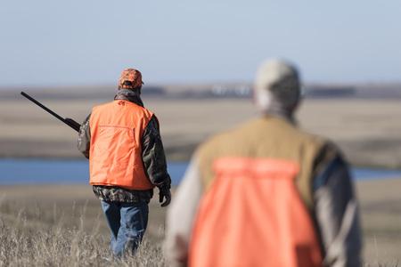 Fazantjagers in Zuid-Dakota Stockfoto - 92667660