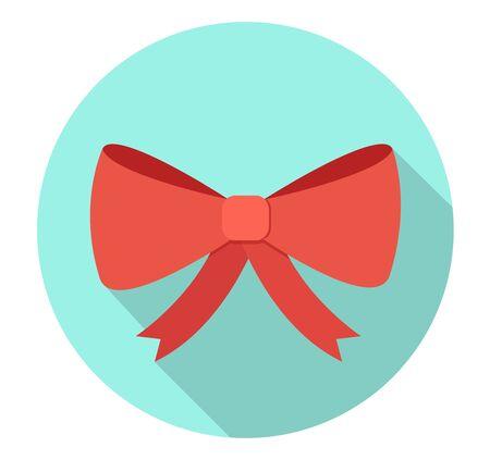 Bow vector flat design