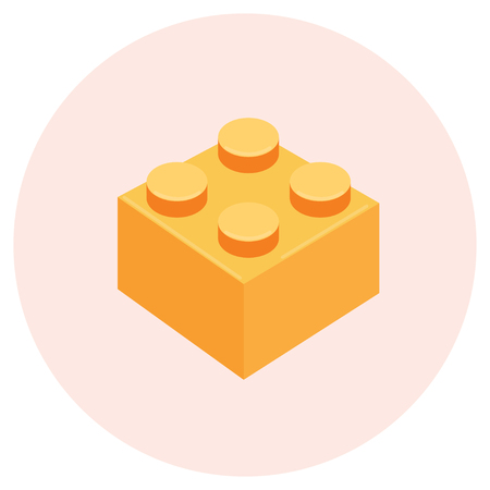 brick icon Flat Design