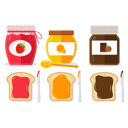 spread flat design icons