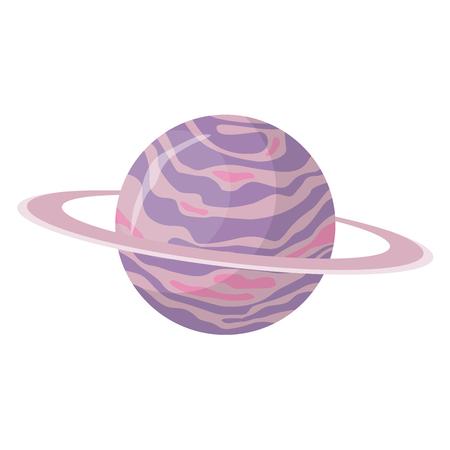 planet flat design icon 版權商用圖片 - 104711119