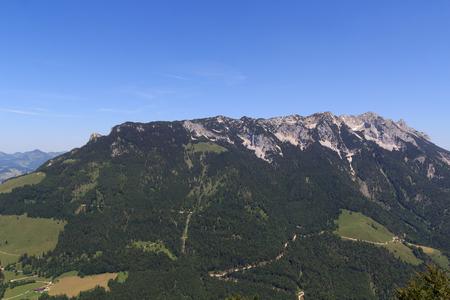 kaiser: View towards the Zahmer Kaiser