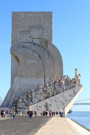 discoveries: Padrao dos Descobrimentos - Monument to the Discoveries in Lisbon