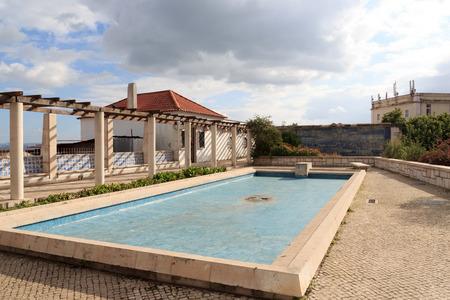 outpost: Lookout Miradouro Santa Luzia in Lisbon
