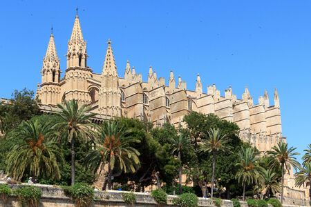 Palma Cathedral in Majorca, Spain photo
