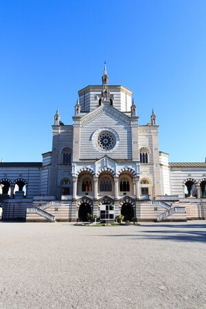 monumental cemetery: Chapel Famedio at Monumental Cemetery Monumental Cemetery in Milan