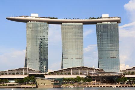 Marina Bay Sands hotel, Singapore Editorial