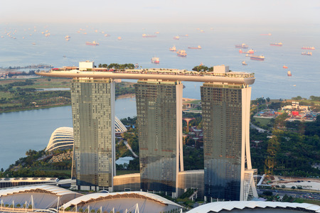 singapore: Marina Bay Sands hotel in Singapore