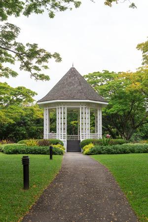 botanic: Bandstand in Singapore Botanic Gardens