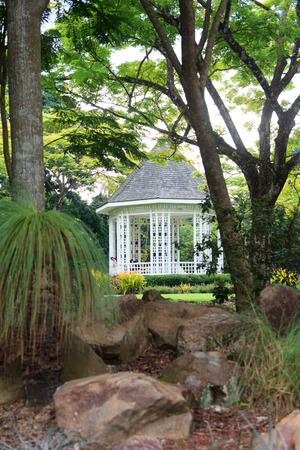 bandstand: Bandstand in Singapore Botanic Gardens