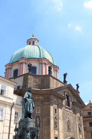 francis: St. Francis Knights of the Cross church in Prague