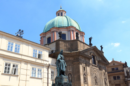 st  francis: St. Francis Knights of the Cross church in Prague