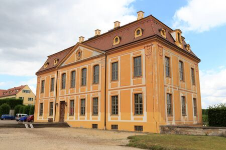 friedrich: Friedrich palace at Baroque garden Grosssedlitz in Heidenau, Saxony