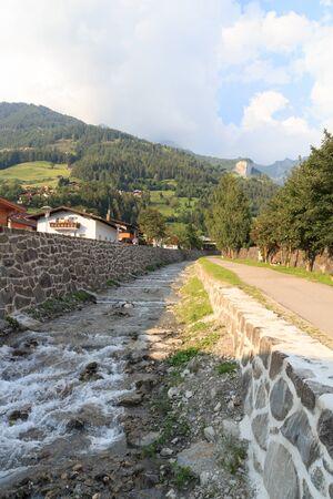 matrei: Stream Bretterwandbach in Matrei in Osttirol, Austria